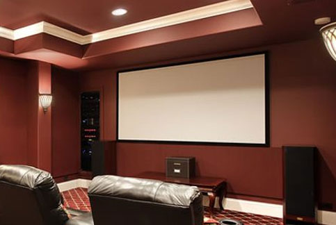 3 series fixed projector screens