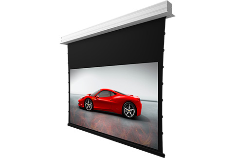 Projector People: Screen Innovations Projector Screen - 3 Series TV Motorized FL (Flush)